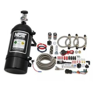 Nos 06016bnos Single Fogger Wet Nitrous Kit For 2005 2019 Dodge chrysler V6 8