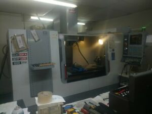 Haas Vf3 Vertical Machining Center 4th Axis Rotary Table