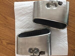 Porsche 911 Exhaust Tips 99711115201 And 99711115101