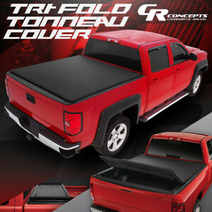 Vinyl Soft Tri fold Trunk Tonneau Cover For 05 19 Nissan Frontier 5 Bed Truck