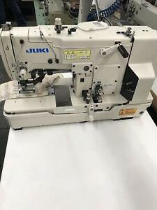 Juki Lbh 783 High Speed Buttonhole Industrial Sewing Machine 110 Volt Used