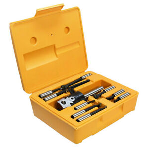 2 Inch Boring Head With Straight Shank And Set Of 9 Pcs Of 1 2 Inch Boring Bar