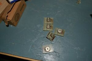 Lot Of 5 Rheostat 500 Ohms 21531 With Solder Board Free Shipping