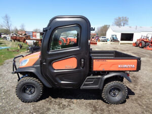 2017 Kubota Rtvx1100c Cab heat air 4wd Hyd Dump Power Steering 3 Hours