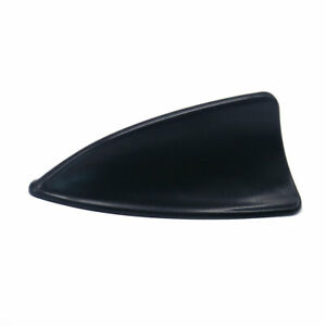 Universal Auto Car Shark Fin Roof Radio Decorative Decorate Antenna Aerial Black
