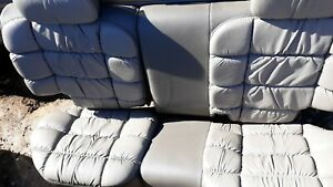 95 Jeep Grand Cherokee Limited Zj Pillow Soft Leather Front Rear Seats