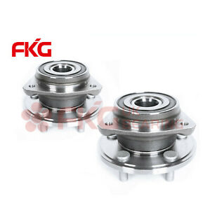 2 Front Wheel Hub Bearing Assembly Pair For Grand Cherokee Jeep Wrangler 513084