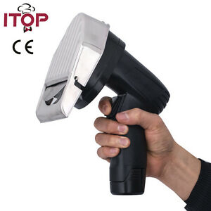 Electric Gyro Cutter Rechargeable Li po Shawarma Doner Kebab Slicer Cutter Ce