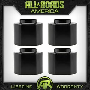 Fits 1997 2006 Jeep Wrangler Tj 2 Front 2 Rear Coil Spring Spacer Lift Kit