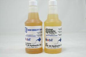 2 Pints Of Mobil 24 And 26 Dte Oil Bridgeport Haas Mills Hardinge Lathes