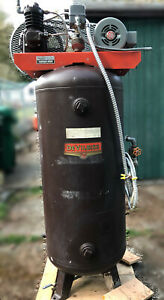 Industrial Air Comprssor Devilbiss 80 Gallon Upright Stationary Electric 3 Phase