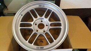 Enkei Rpf1 17x9 5x114 3 35mm Silver Finish 2 Wheels