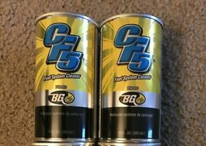 2 Bg Cf5 Fuel System Cleaner Treatment Additive 2x 11oz Cans 203 Carbon Fighter