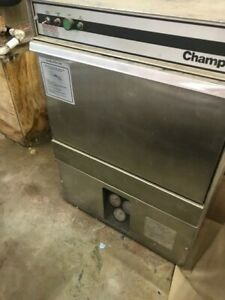 Champion Commercial Dish Washer Machine In Good Condition Stainless Steel