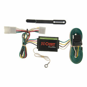 55354 Curt 4 way Flat Trailer Wiring Connector Harness Fits Jeep Cherokee