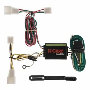 55308 Curt 4 way Flat Trailer Wiring Connector Harness Fits Toyota Camry