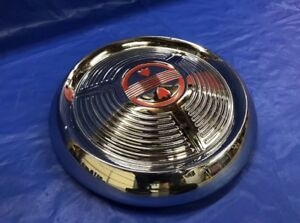 Vintage 1958 Oldsmobile Dog Dish Hubcaps Poverty Super 88 98 Dynamic Holiday