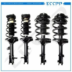For 2000 2001 2002 2003 2004 2005 2006 Hyundai Elantra 4 Pcs Quick Struts Spring