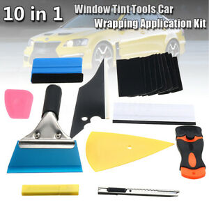 28pcs Car Window Tint Film Wrapping Vinyl Tools Squeegee Scraper Applicator Kits