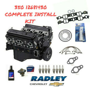 Gm Oem New Chevrolet Truck Engine 12568758 Goodwrench 350em Dealer Direct Kit