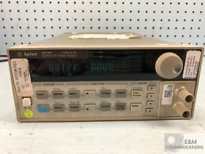 6612c Hp Agilent Precision Dc Power Supply 20v 2a 40w Recent Calibration k
