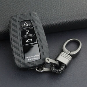 Remote Car Key Case Cover Fob Holder For Toyota Camry Corolla Avalon Prius Rav4