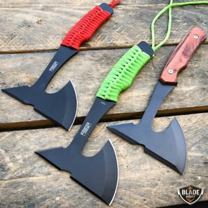 9quot; Tactical Fixed Blade Throwing Tomahawk Axe Hatchet Hunting Knife Camping NEW $9.45