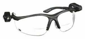 3m Clear Anti fog Bifocal Safety Reading Glasses 2 0 Diopter 11478 00000 10