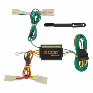 56186 Curt 4 way Flat Trailer Wiring Connector Harness Fits Kia Forte