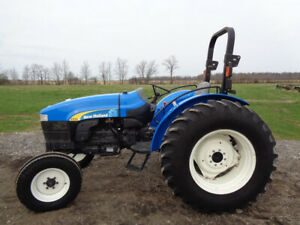 2008 New Holland Tt75a Tractor 2wd 75hp Diesel 1 Remote 1 526 Hours