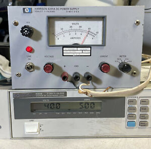 Hp 6291a Variable Dc Power Supply 0 To 40v 5a 200w Load Tested