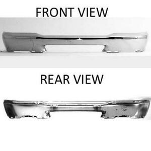 Cpp Chrome Front Bumper Face Bar For 1998 2000 Ford Ranger