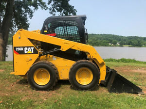 2016 Caterpillar 236d Rubber Tire Skid Steer Cab Ac Diesel Cat Wheel Loader