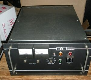 Raytheon Sorensen Nobatron Dcr20 125a Power Supply 125 Amp Three phase