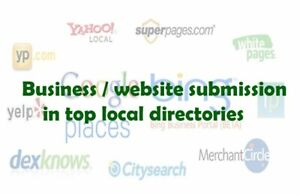 Get Your Business website Added To The Top 60 Directories Manually local Seo