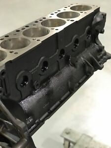 Ford 300 4 9l Inline 6 Long Block Bare