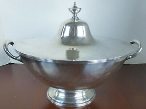 Tureen High Quality Silver Plate By William Hutton Sons Circa 1900