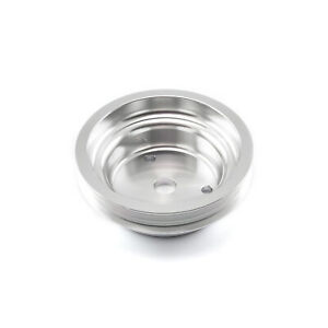 Chevy Sbc Billet Aluminum Short Water Pump Swp Serpentine Pulley