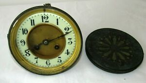 Good Old French Striking Clock Movement Dial