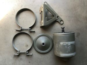 Original Oil Canister Housing Fram Ww2 Jeep Ford Gpw Willys Mb Military L134