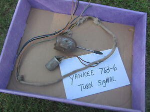 Vintage Yankee 763 6 Turn Signal Switch Signal