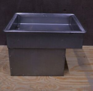 Atlas Wcm 2 Metal Refrigerated Drop in Cold Well Pan 29 5 x24 x20