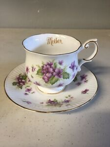 Queen S Fine Bone China Rosina China Co Tea Cup And Saucer Floral