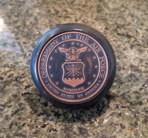 U S Air Force Bakelite Shift Knob Integrity First United States Logo Emblem