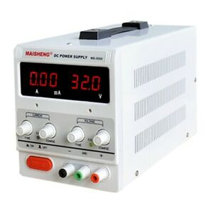 Adjustable Ms 305d Lab Dc Bench Switching Dc Power Supply 0 30v 0 5a 150w New