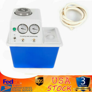 110v 180w circulating Water Vacuum Pump two Off gas Tap lab Chemistry Equipment