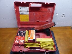Hilti Dx36m Power Actuated Nail Gun Fastening Tool W Case Dx 36m 800 Shots Vguc