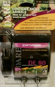 Dare Enforcer Low Impedance Electric Fence Energizer De 80 Up To 5 Acres New