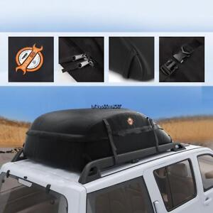 41x35x17 Waterproof Car Roof Top Box Cargo Bag Travel Carrier Universal S Size