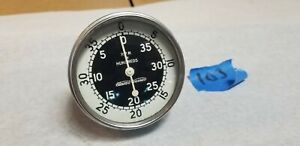 Stewart Warner Vintage Tachometer For Hot Rat Street Rod Trog Scta